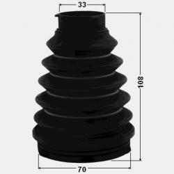 KIT BURDUF CAP PLANETARA LA INTERIOR 70X108X33 - TOYOTA CHASER GX90JZX9LX90SX90 (JP) 1992 - 1996
