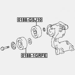 ROLA GHIDAJ - TOYOTA HILUX GGN152535 KUN123 LAN152535 TGN12636 (GR) 2011 -