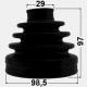 KIT BURDUF CAP PLANETARA LA INTERIOR 98.5X97X29 - NISSAN PATROL Y62 EL 2010 -
