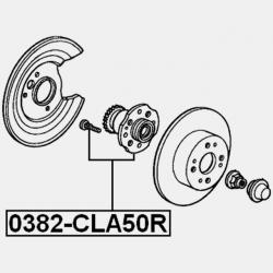 ROATA BUTUC/RULMENT SPATE - HONDA ACCORD CF3 / CF4 / CF5 / CL1 / CL3 1998 - 2002