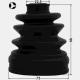 KIT BURDUF CAP PLANETARA LA INTERIOR 75X96X22.5 - HYUNDAI TUCSON 2004 - 2010