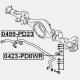 BARA STABILIZATOARE SPATE - MITSUBISHI DELICA SPACE GEAR - CARGO PA - PB - PC 1994 - 2006