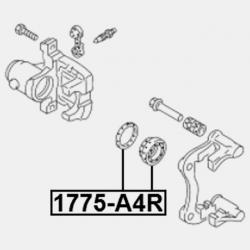 SET REPARATIE ETRIER - AUDI A5 / S5 SPORTBACK 2009 -