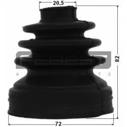 KIT BURDUF CAP PLANETARA LA INTERIOR 72X82X20.5