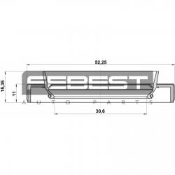 SIMERING PLANETARA/CARDAN 32X52X11X15.4 - SUBARU FORESTER S12 2007 - 2012